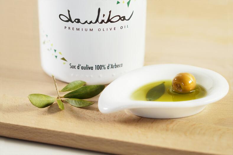 zumo oliva dauliba aceite premium arbequina lleida